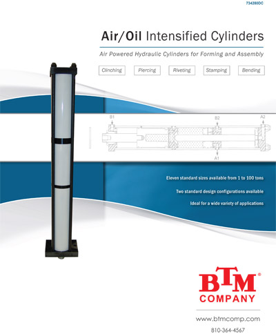 Air-Over-Oil-Cylinders
