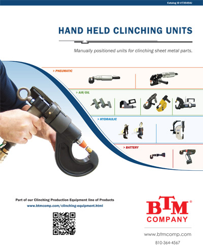 Hand Held Clinching Units