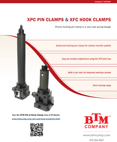 XPC Pin Clamps